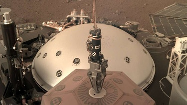 Seisometer der Mars-Sonde InSight | Bild: picture-alliance